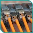 Netzwerk: Ethernet Kabelanschluesse