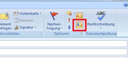 Bild 12: Email auch verschlüsseln